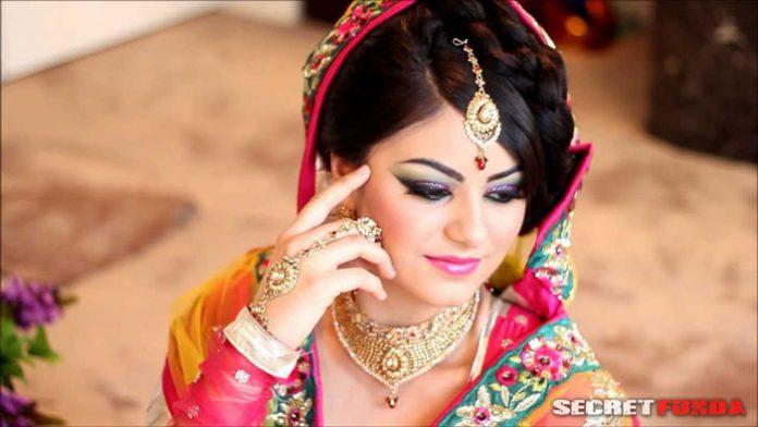 bridal makeup beautiful day of life